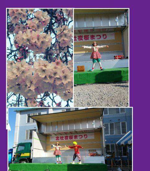 長坂夜桜祭り出演してきました!